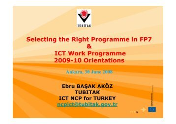 FP7 ICT Orientations_EbruBASAK_30062008 [Compatibility Mode]