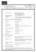 COSHH - Safety data sheet - Futures Supplies & Support Services - Page 3