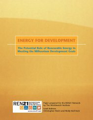 ENERGY FOR DEVELOPMENT - Nordic Folkecenter for Renewable ...