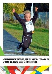 friidrettens øvelsesutvalg for barn og ungdom - Friidrett.no
