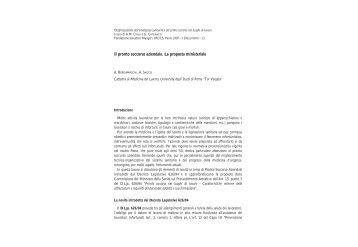 Mezzi telematici per la gestione dell'emerganza sanitaria e del ...