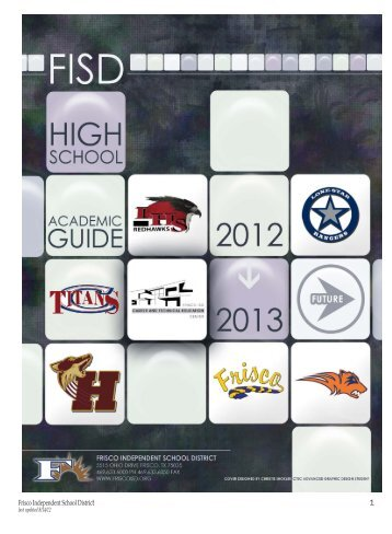 Academic Guide - Frisco ISD