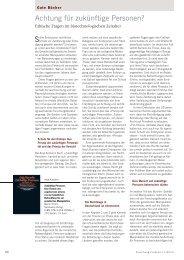 Ausgabe 1-2013 - Forschung Frankfurt - Goethe-Universität
