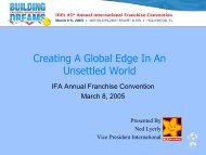 Creating A Global Edge In An Unsettled World - International ...