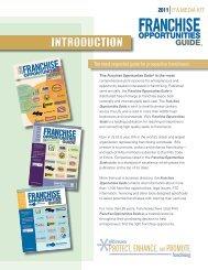 INTRODUCTION - International Franchise Association