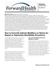 2010-119 - ForwardHealth Portal