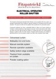 electrical roller shutter - Fitzpatricksal.com