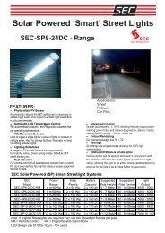 SEC 'Smart' Street light Broc... - Fuel Cell Markets