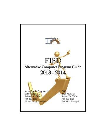 Special Programs Handbook - Frisco ISD
