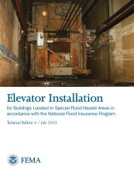 Elevator Installation - The Association of State Floodplain Managers