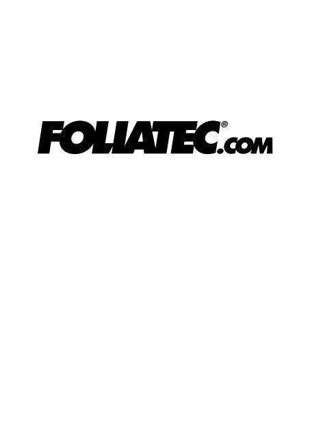 KILL - Foliatec