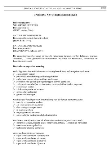 BVR 18.06.2010 - GO! onderwijs van de Vlaamse Gemeenschap