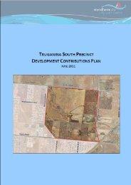 Truganina South Development Contributions Plan - Growth Areas ...