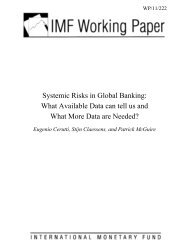 Systemic Risks in Global Banking - Financial Risk and Stability ...