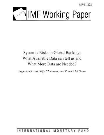 International banking risk