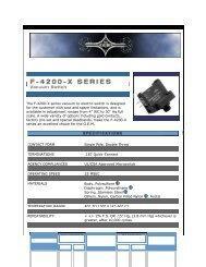 F4200X - Fluidraulics Inc