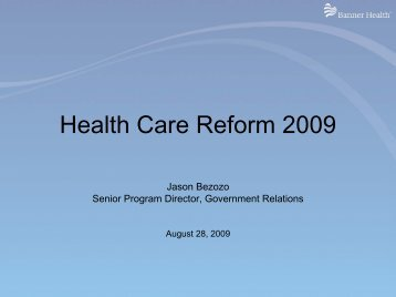 Healthcare Reform - Flagstaff Chamber of Commerce