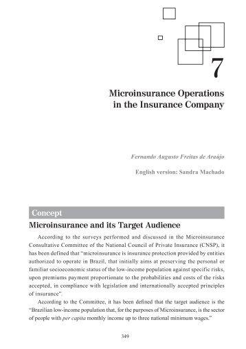 07-Microinsurance-Vol 2.indd - Escola Nacional de Seguros