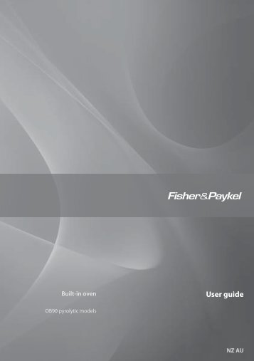 OB90 User Guide - Fisher & Paykel