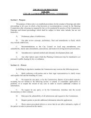 Planning Commission Rules of Procedure - City of Gaithersburg