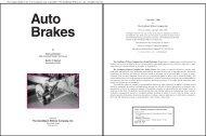 Auto Brakes - Goodheart-Willcox