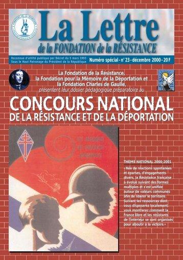 Télécharger au format PDF (1.5 Mo) - Fondation de la Résistance