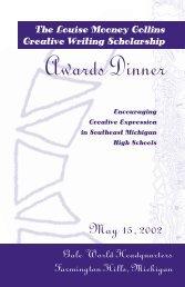 LM Collins Awards Program 2002 - Gale