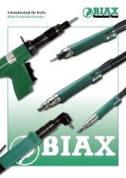 BIAX-Druckluftschrauber - Frank Drucklufttechnik