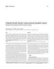 Pdf - Türkiye Fiziksel Tıp ve Rehabilitasyon Dergisi
