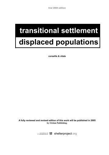 displaced populations - Forced Migration Online