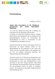 Pressemeldung - Fit for Future