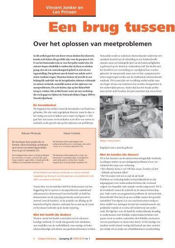 Jonker, V. and Prinsen, L. (2009). - Freudenthal Instituut