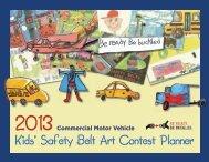 Kids' Safety Belt Art Contest Planner - Federal Motor Carrier Safety ...