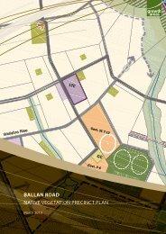 ballan road native vegetation precinct plan - Growth Areas Authority