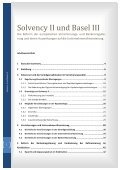 Solvency II und Basel III - Financial Risk and Stability Network - Seite 3