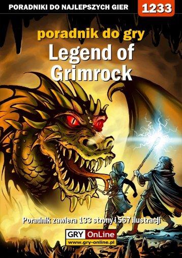 Poradnik GRY-OnLine do gry Legend of Grimrock - Gandalf