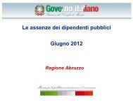 Abruzzo - Dipartimento Funzione Pubblica