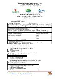 RELATRIO FINAL TCNICO- CIENTFICO - fapesc