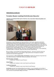 Download PDF (217 KB) - Fondation Beyeler