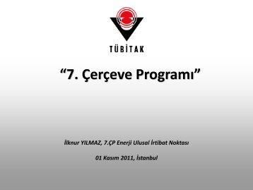 01 Kasım 2011, İstanbul - 7. Çerçeve Programı