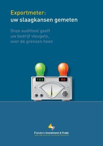 Exportmeter: uw slaagkansen gemeten - Flanders Investment & Trade