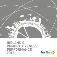 Ireland's Competitiveness Performance 2013 - Forfás
