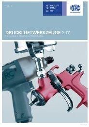 AGRE Druckluftwerkzeuge 2011 - freytool