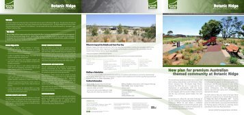 Botanic Ridge Botanic Ridge - Growth Areas Authority