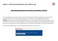 DFBnet – Elektronische Postfächer (www.dfbnet.org)