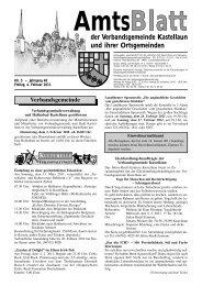 Blatt Amts - Fischer Druck + Verlag