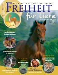 pdf-download: Freiheit für Tiere 4/2010 - Magazin Freiheit für Tiere