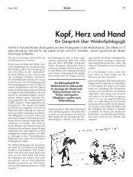 Kopf, Herz und Hand - Forum – für Politik, Gesellschaft und Kultur ...