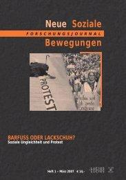 Vollversion (3.3 MB) - Forschungsjournal Neue Soziale Bewegungen