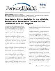 2011-03 - ForwardHealth Portal
